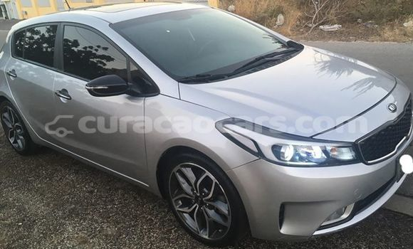 Buy Used Kia Forte Silver Car in Willemstad in Curacao