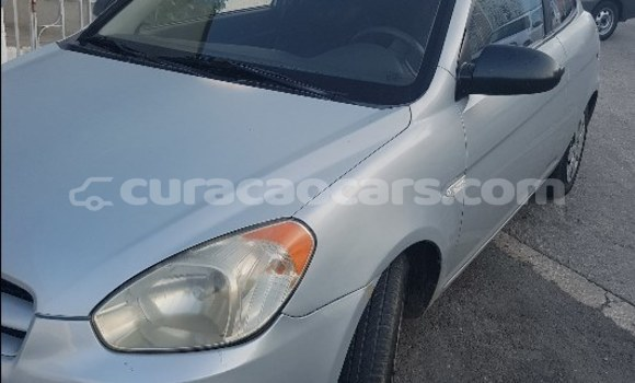 Buy Used Hyundai Accent Silver Car in Willemstad in Curacao
