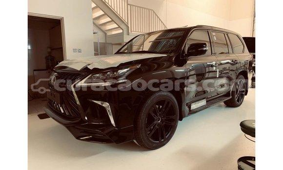 Buy Import Lexus LX Black Car in Import - Dubai in Curacao