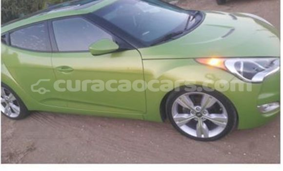 Buy Used Hyundai Veloster Green Car in Willemstad in Curacao
